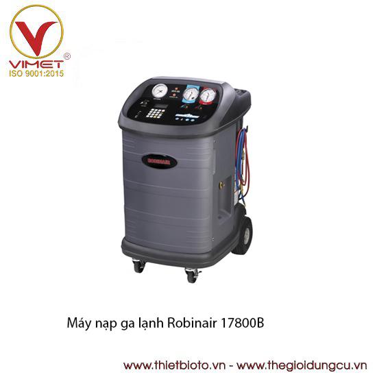 Máy thu hồi và nạp ga lạnh tự động cho xe tải và xe bus Robinair 17800B