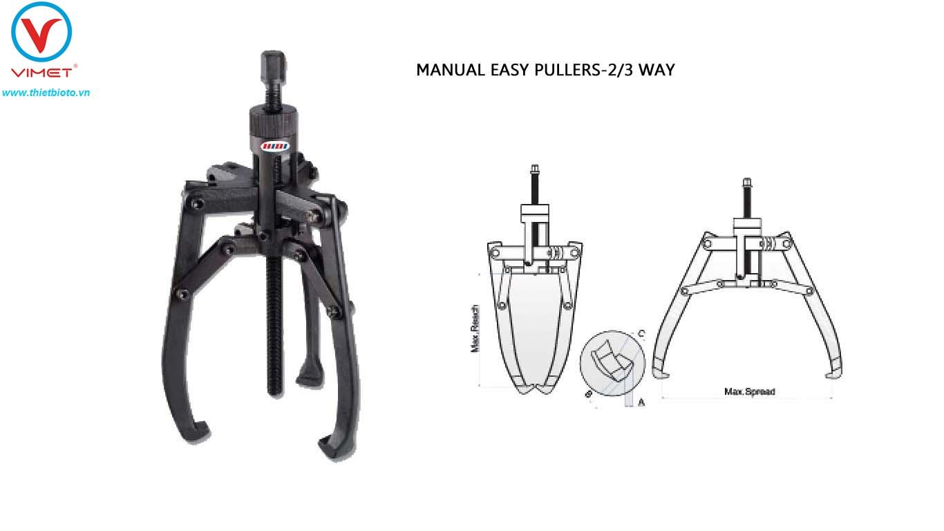 Cảo cơ khí 2/3 trấu HIDI HDPM85
