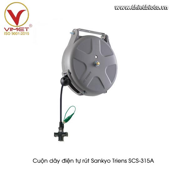 Cuộn dây điện tự rút Sankyo Triens SCS-315A