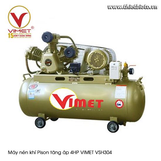 Máy nén khí Pison tăng áp 4HP VSH304