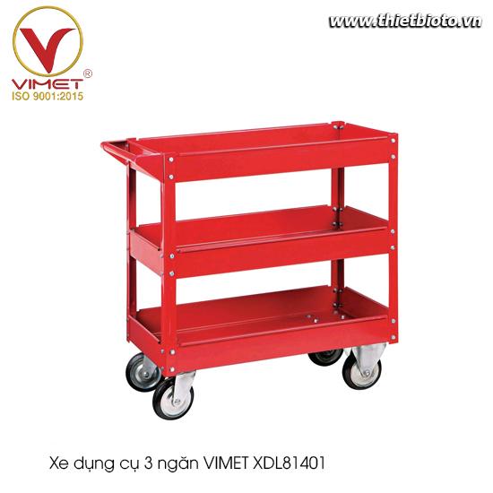 Xe dụng cụ 3 ngăn Vimet XDL81401