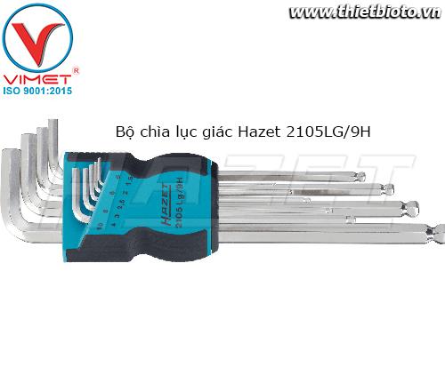 Bộ chìa lục giác Hazet 2105LG/9H