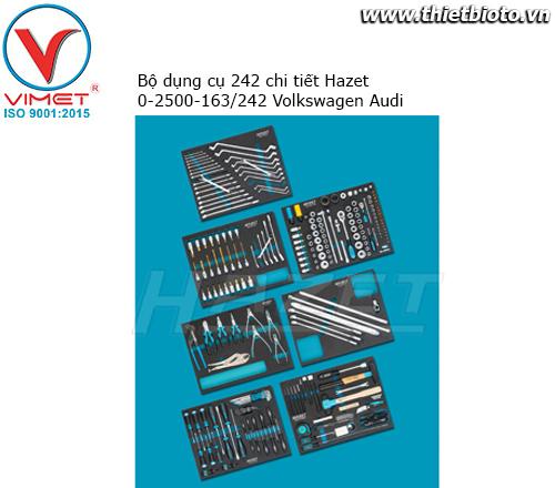 Bộ dụng cụ 242 chi tiết Hazet 0-2500-163/242 Volkswagen Audi
