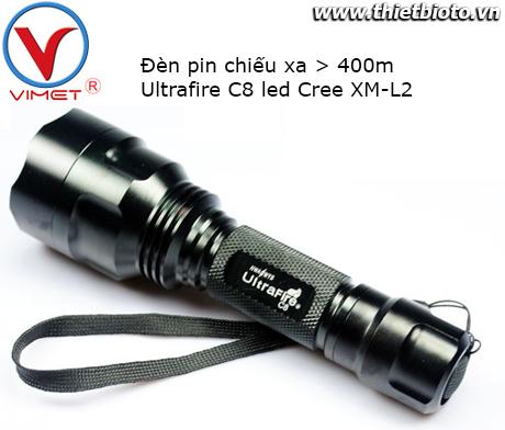Đèn pin Ultrafire C8