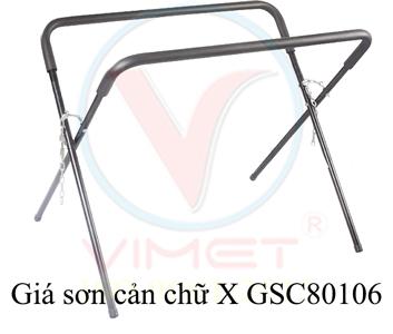 Giá sơn cản chữ X GSC80106