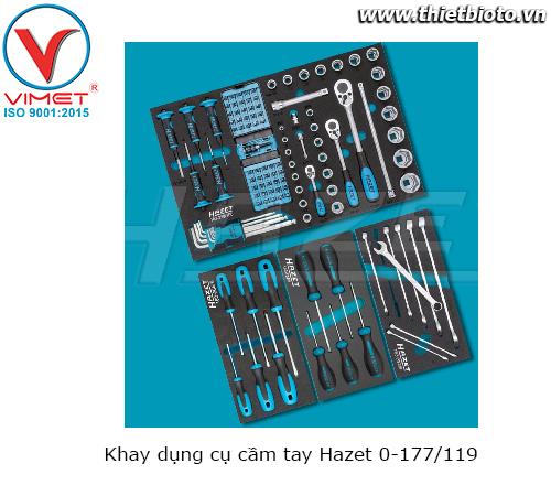 Khay dụng cụ cầm tay Hazet 0-177/119
