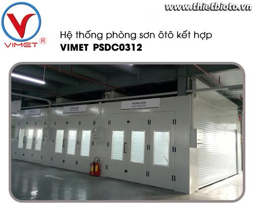 Phòng sơn sấy ôtô dây chuyền cao cấp PSDC0312