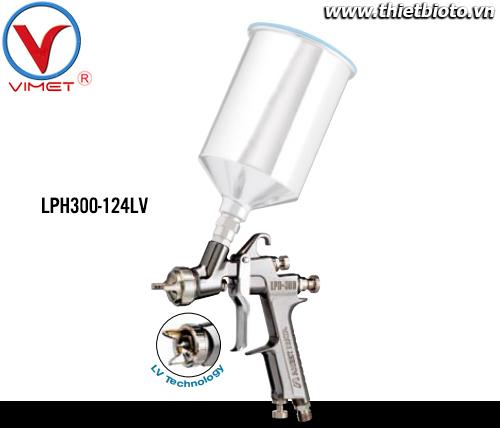 Súng phun sơn áp lực thấp Anest Iwata LPH-300-124LV