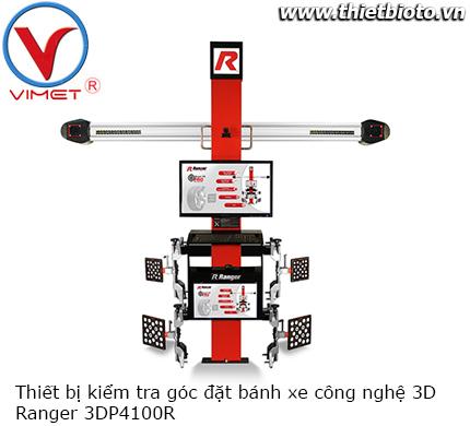 Thiết bị kiểm tra góc đặt bánh xe công nghệ 3D Ranger 3DP4100R