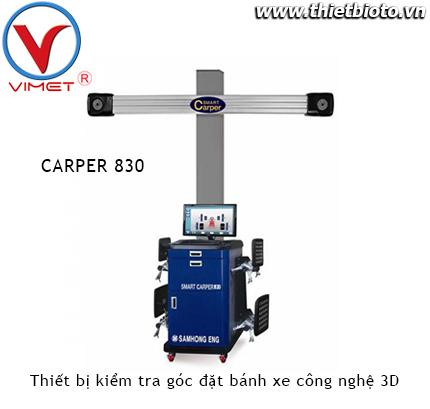 Thiết bị kiểm tra góc đặt bánh xe công nghệ 3D Samhong SMART CARPER 830