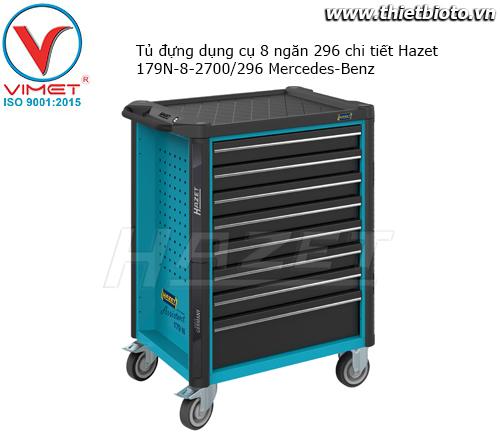 Tủ đựng dụng cụ 8 ngăn 296 chi tiết Hazet 179N-8-2700/296 Mercedes-Benz